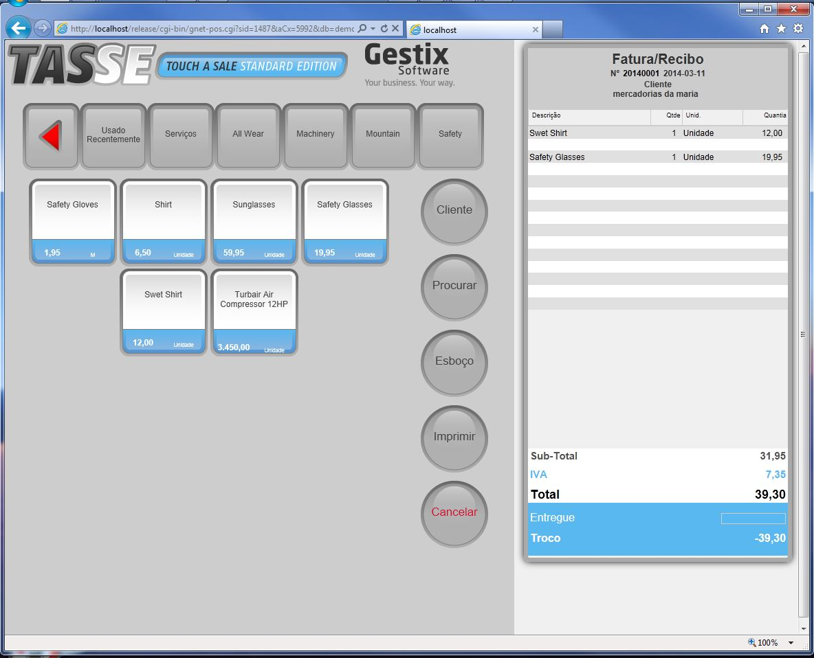 Checkout POS Software Everywhere: Gestix. That's it.